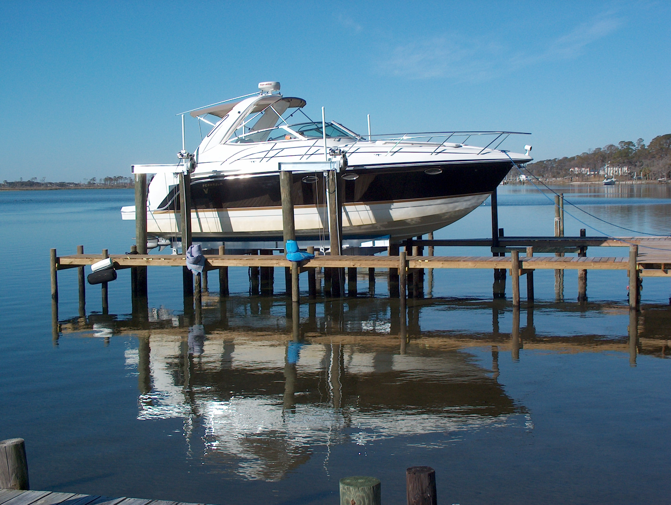 4-Motor 8-Piling Lift for Big Boats