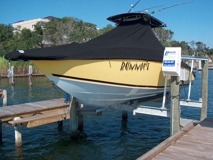 boat lifts sandestin